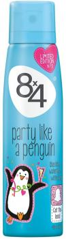 8 x 4 Deospray Party like a Penguin 150 ml