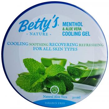 Betty´s Nature Menthol und Aloe Vera kühlendes Hautgel 300 ml