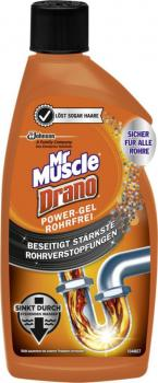 Mr.Muscle Drano Power-Gel Rohrfrei 500 ml