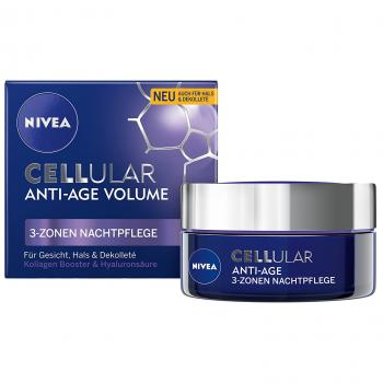 Nivea Cellular Anti-Age Volume 3-Zonen Nachtpflege 50 ml