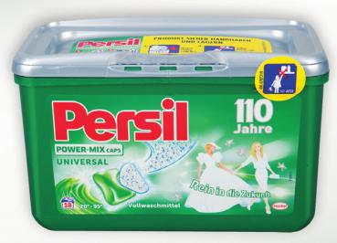 Persil Power Mix Caps Universal 110 Jahre 18 WL