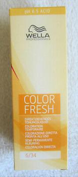 Wella Color Fresh Tönungsliquid 6/34 75 ml
