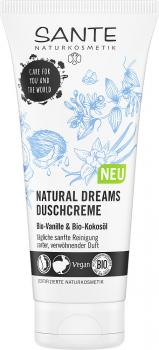 Sante Duschcreme Natural Dreams Bio-Vanille & Bio-Kokosöl 200 ml