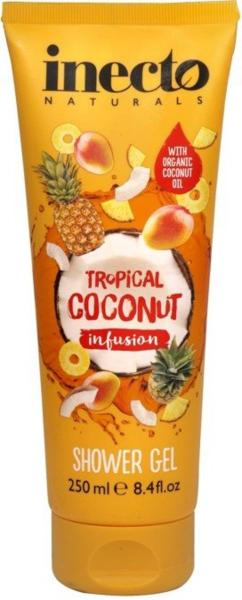 Inecto Shower Gel Tropical Coconut Infusion 250 ml