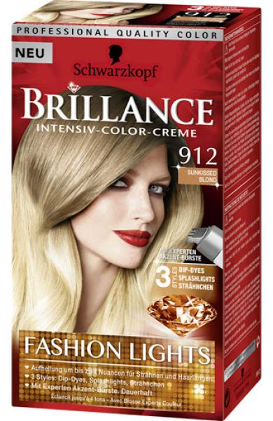 Schwarzkopf Brillance Intensiv-Color-Creme 912